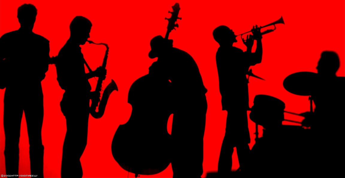 A jazz band plays music
